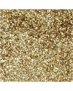 Bio Sparkles, D: 0,4 mm, gold, 10 g/ 1 tub