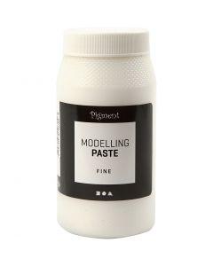 Pigment modelling paste, fine, 500 ml/ 1 tub
