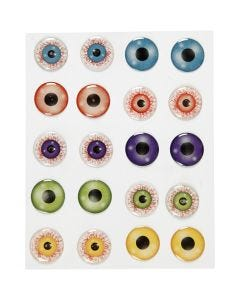 3D Eyes, D: 20 mm, 1 sheet