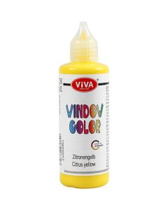 Viva Decor Window Color, yellow, 90 ml/ 1 bottle