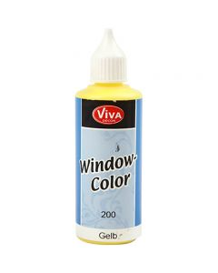 Viva Decor Window Color, yellow, 80 ml/ 1 bottle