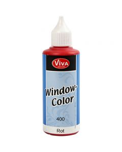Viva Decor Window Color, red, 80 ml/ 1 bottle