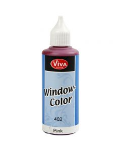 Viva Decor Window Color, pink, 80 ml/ 1 bottle