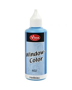 Viva Decor Window Color, light blue, 80 ml/ 1 bottle