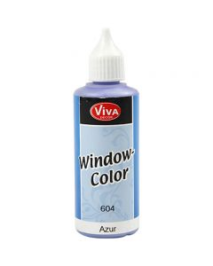 Viva Decor Window Color, Azure, 80 ml/ 1 bottle