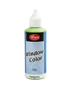 Viva Decor Window Color, light green, 80 ml/ 1 bottle