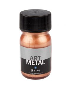 Art Metalic Paint, copper, 30 ml/ 1 bottle