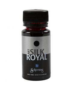 Silk Royal Paint, red, 50 ml/ 1 bottle