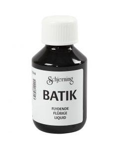 Batik dye, black, 100 ml/ 1 bottle