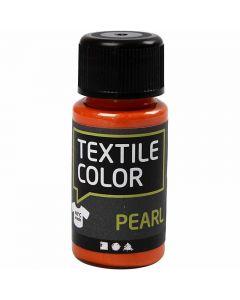 Textile Color Paint, mother of pearl, orange, 50 ml/ 1 bottle