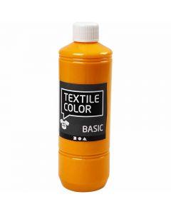 Textile Color Paint, yellow, 500 ml/ 1 bottle