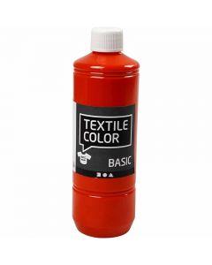 Textile Color Paint, orange, 500 ml/ 1 bottle