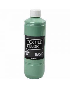 Textile Color Paint, sea green, 500 ml/ 1 bottle
