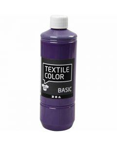 Textile Color Paint, lavender, 500 ml/ 1 bottle