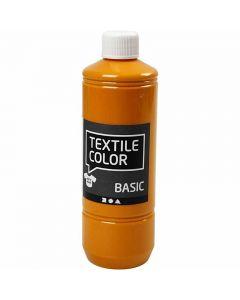 Textile Color Paint, mustard, 500 ml/ 1 bottle