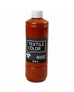Textile Color Paint, brick, 500 ml/ 1 bottle