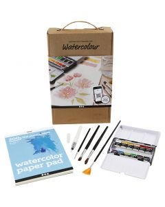 Watercolour Discover kit, A5, 200 g, 1 set
