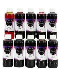 Liquid WaterColour, 10x250 ml/ 1 pack