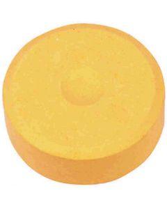Watercolour, H: 16 mm, D: 44 mm, light orange, 6 pc/ 1 pack