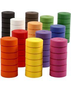 Watercolour, H: 16 mm, D: 44 mm, refill, 72 pc/ 1 pack