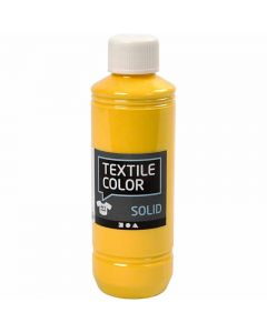 Textile Solid, opaque, yellow, 250 ml/ 1 bottle