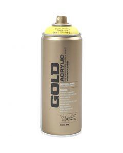 Spray paint, yellow, 400 ml/ 1 tub