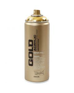 Spray paint, gold, 400 ml/ 1 tub