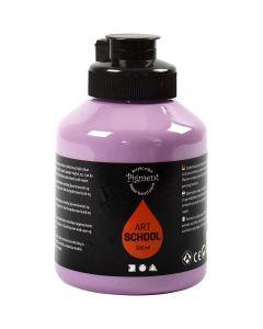 Pigment Art School Paint, opaque, purple, 500 ml/ 1 bottle