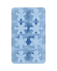 Silicone mould, H: 2,5 cm, L: 24 cm, W: 14 cm, hole size 30x45 mm, 12,5 ml, 1 pc/ 1 pack
