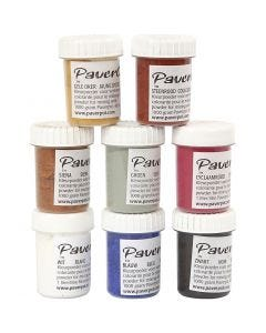 Pavercolor, 8x40 ml/ 1 pack