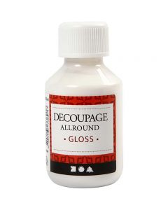 Decoupage Varnish, glossy, 100 ml/ 1 bottle