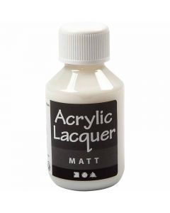 Acrylic Varnish, matt, 100 ml/ 1 bottle