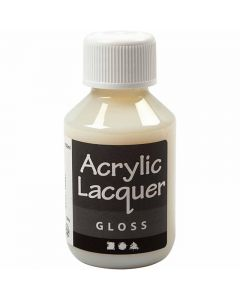 Acrylic Varnish, glossy, 100 ml/ 1 bottle