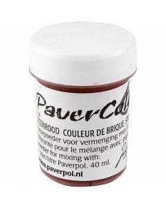 Pavercolor, terracotta, 40 ml/ 1 bottle