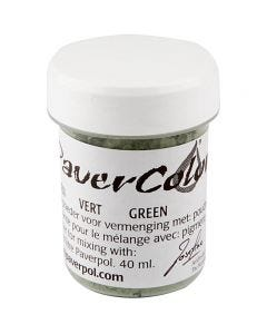 Pavercolor, green, 40 ml/ 1 bottle