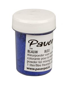 Pavercolor, blue, 40 ml/ 1 bottle