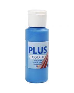 Plus Color Craft Paint, primary blue, 60 ml/ 1 bottle