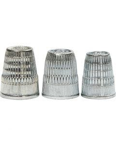 Thimbles, D: 15+16+17 mm, 3 pc/ 1 pack