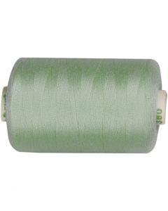 Sewing Thread, L: 1000 yards, mint green, 915 m/ 1 roll