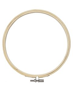 Embroidery Frame, D: 15 cm, 1 pc