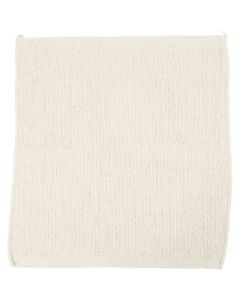 Floor cloth, size 43x47 cm, light natural, 10 pc/ 1 pack