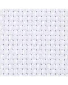 Aida Fabric, W: 150 cm, 35 squares per 10cm , white, 3 m/ 1 pc