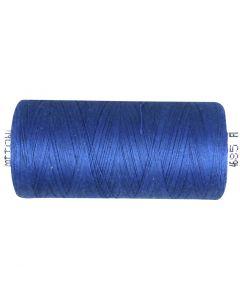 Sewing Thread, mid-blue, 1000 m/ 1 roll