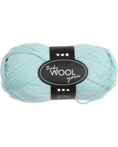 Baby Yarn, L: 172 m, mint green, 50 g/ 1 ball