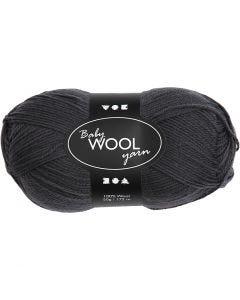 Baby Yarn, L: 172 m, dark grey, 50 g/ 1 ball