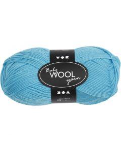 Baby Yarn, L: 172 m, turquoise, 50 g/ 1 ball