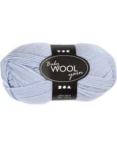 Baby Yarn, L: 172 m, light blue, 50 g/ 1 ball