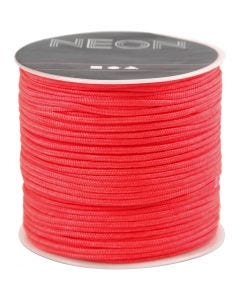Polyester Cord, thickness 1 mm, salmon, 28 m/ 1 roll