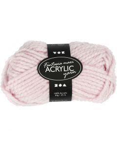 Fantasia Acrylic Yarn, L: 35 m, size maxi , light red, 50 g/ 1 ball
