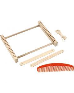 Loom, H: 3 cm, size 24,5x19,5 cm, 1 pc